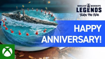 World of Warships: Legends – Happy Anniversary, Legends!