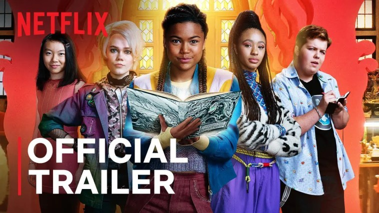 A Babysitter's Guide To Monster Hunting | Official Trailer | Netflix