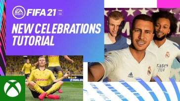 FIFA 21 | New Celebrations Trailer