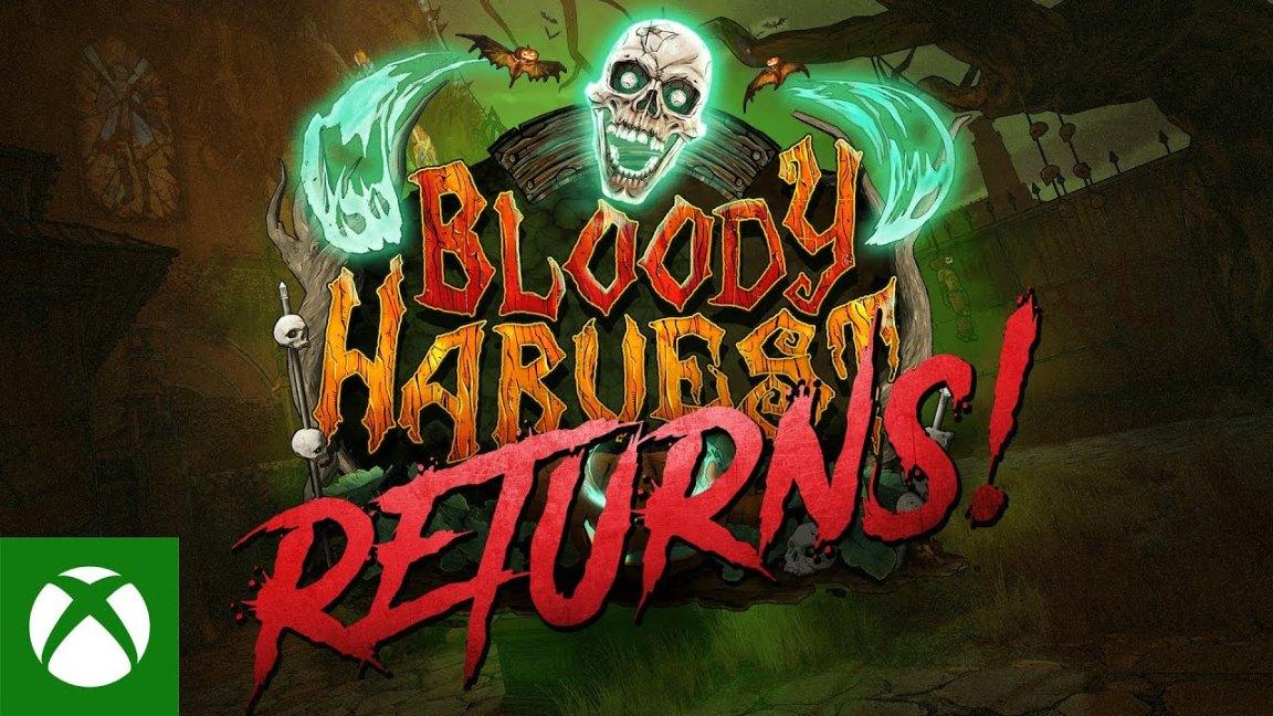 Borderlands 3 - Bloody Harvest Returns Trailer