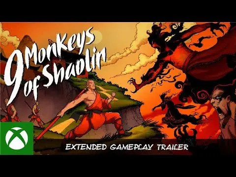 9 Monkeys of Shaolin - Extended Gameplay Trailer