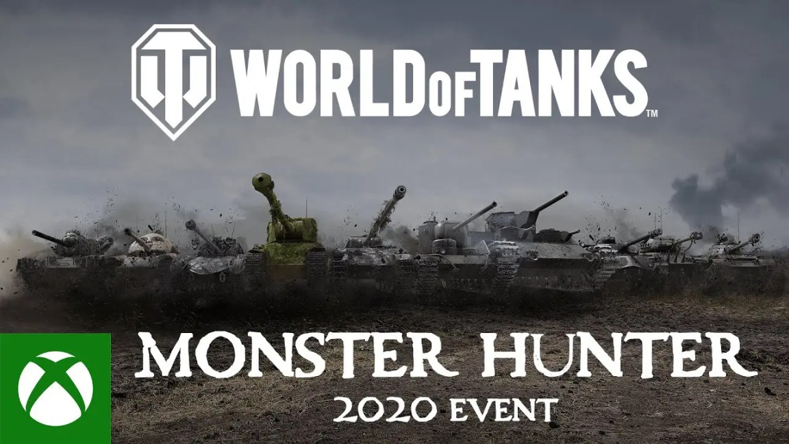 World of Tanks Console Monster Hunter 2020 Event, World of Tanks Console Monster Hunter 2020 Event