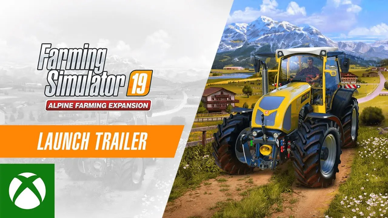 Farming Simulator 19 Alpine Farming Expansion - Launch Trailer
