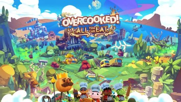 Overcooked! AYCE Key Art with Logo