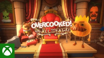 Overcooked! All You Can Eat - Launch Trailer, Overcooked! All You Can Eat – Trailer de lançamento