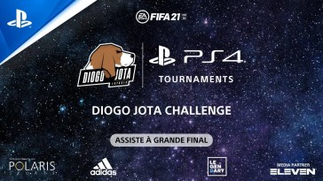 Torneio EA Sports FIFA 21 PS4 - Diogo Jota Challenge | ASSISTE À GRANDE FINAL, Torneio EA Sports FIFA 21 PS4 – Diogo Jota Challenge | ASSISTE À GRANDE FINAL
