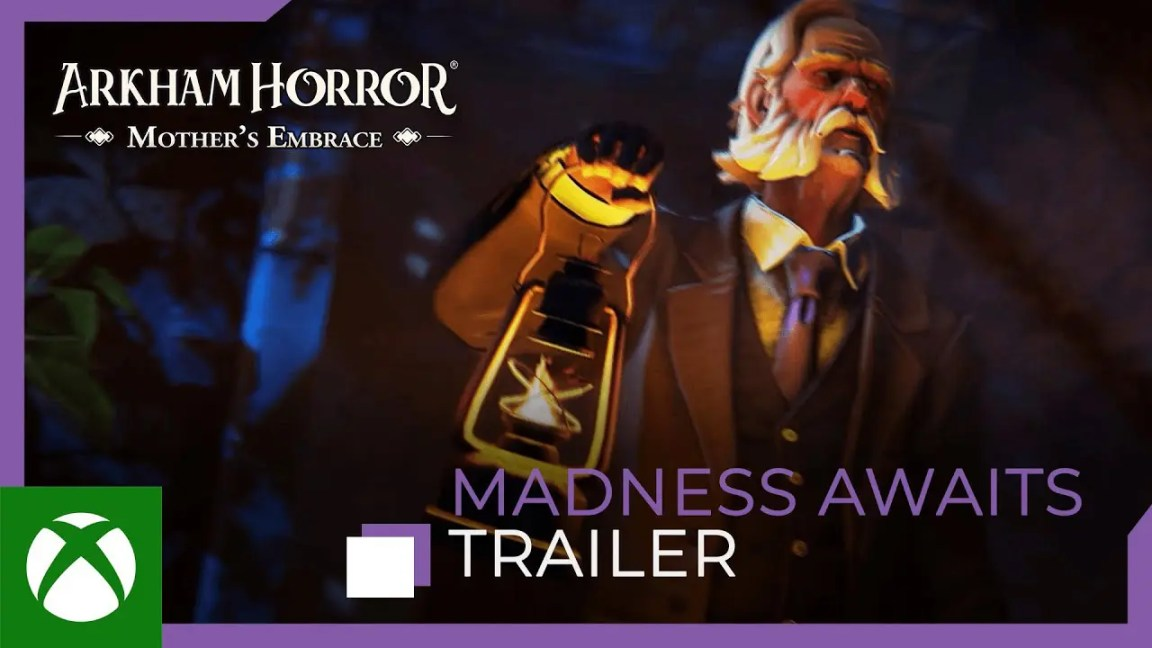 Arkham Horror: Mother's Embrace - Madness Awaits Trailer, Arkham Horror: Mother's Embrace – Madness Awaits Trailer
