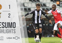 Highlights | Resumo: CD Nacional 1-2 SC Braga (Liga 20/21 #21)