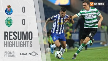 Highlights | Resumo: FC Porto 0-0 Sporting (Liga 20/21 #21)