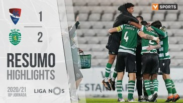 Highlights | Resumo: Gil Vicente 1-2 Sporting (Liga 20/21 #18)