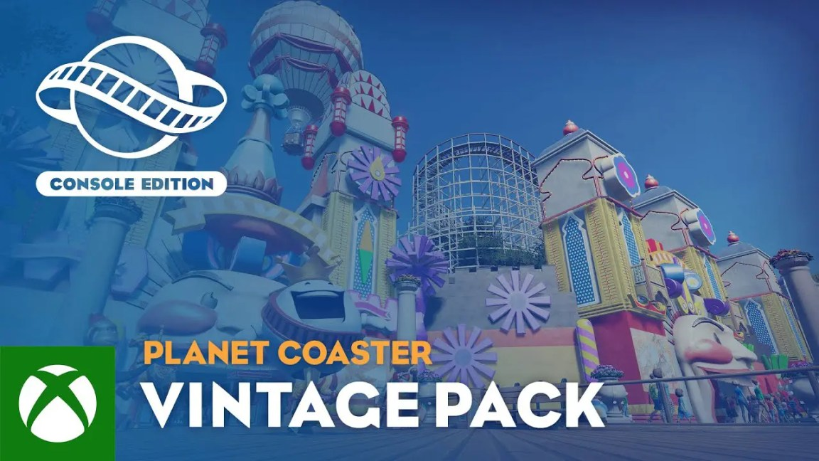 Planet Coaster: Console Edition | Vintage Pack Trailer
