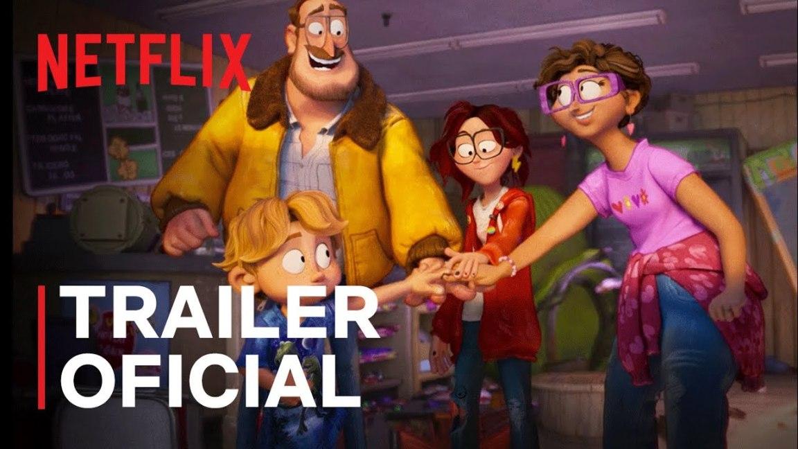 Os Mitchell Contra as Máquinas | Trailer oficial | Netflix, Os Mitchell Contra as Máquinas | Trailer oficial | Netflix