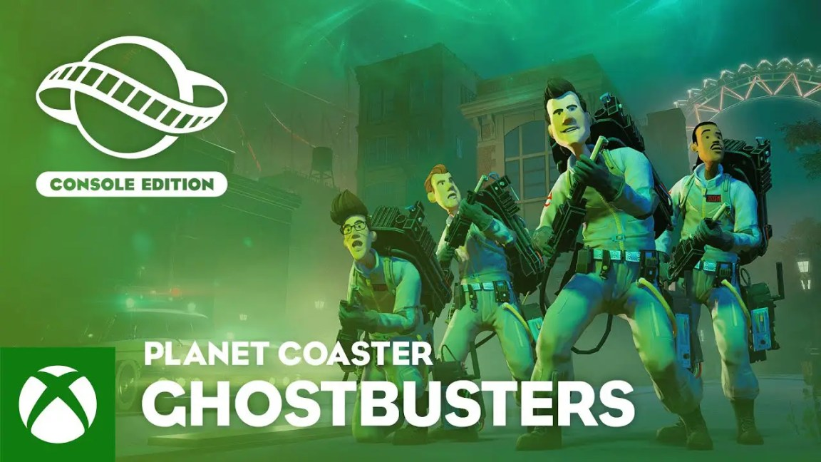 , Planet Coaster: Console Edition | Ghostbusters Trailer