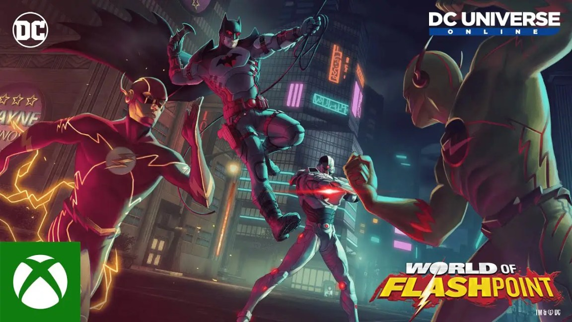 , DC Universe™ Online – World of Flashpoint Trailer de lançamento