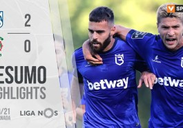 Highlights | Resumo: Belenenses SAD 2-0 Marítimo (Liga 20/21 #27)
