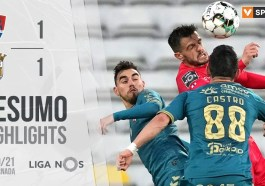 , Highlights | Resumo: Gil Vicente 1-1 SC Braga (Liga 20/21 #32)
