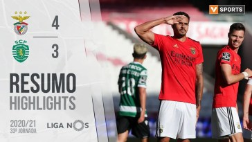 , Highlights | Resumo: Benfica 4-3 Sporting (Liga 20/21 #33)