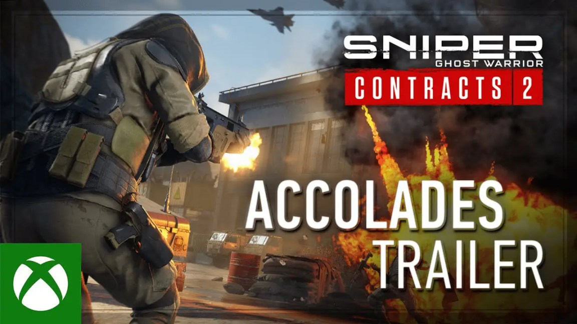 , Sniper Ghost Warrior Contracts 2 – Accolades Trailer