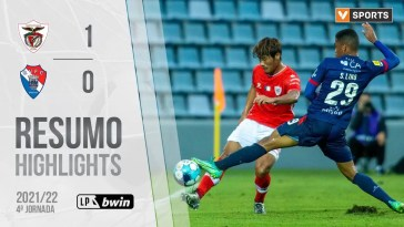 Highlights | Resumo: Santa Clara 1-0 Gil Vicente (Liga 21/22 #4), Highlights | Resumo: Santa Clara 1-0 Gil Vicente (Liga 21/22 #4)