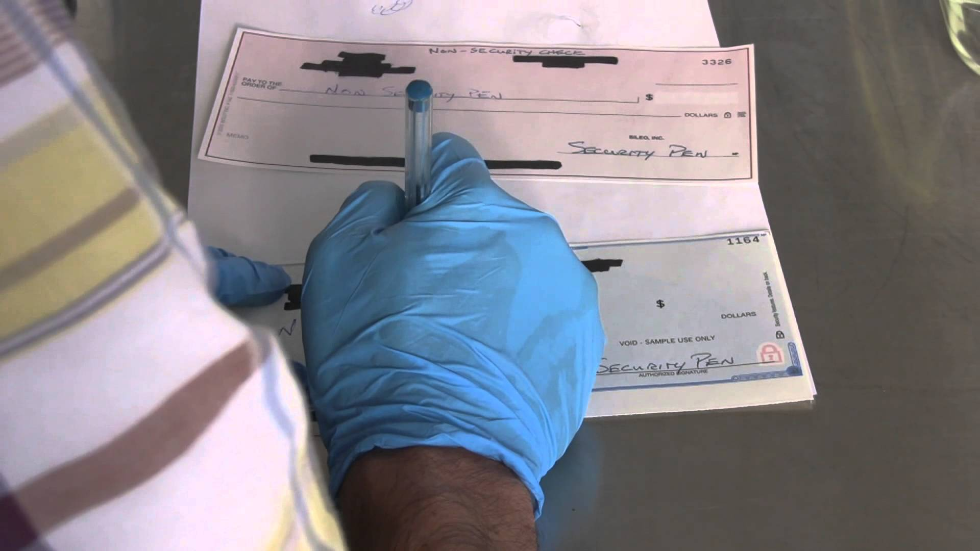 Material alterations to a Cheque