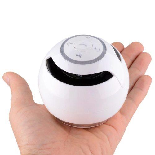 Light up Bluetooth Speaker White