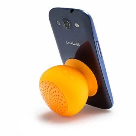Silicone Bluetooth Speaker Orange