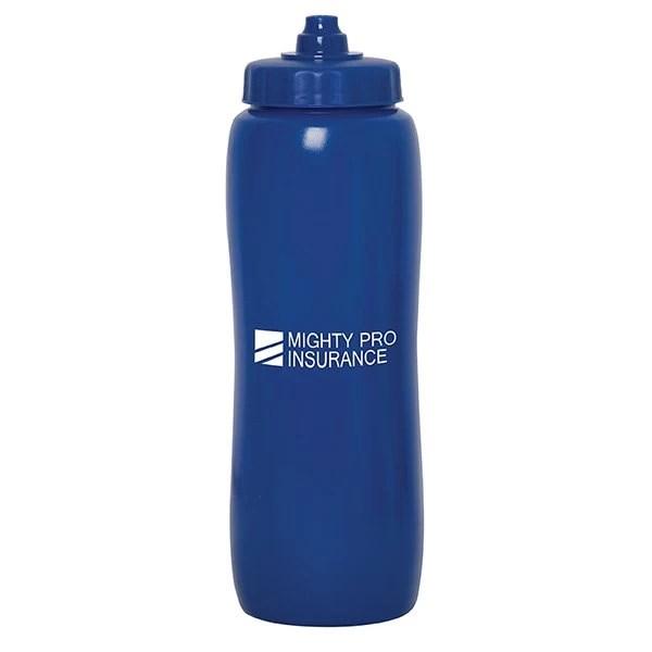 Valais Squeeze Water Bottle -blue