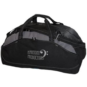 extra large sports bag - black