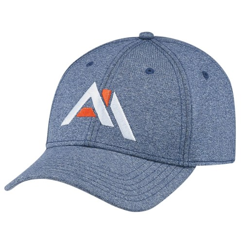 Polyester Heather Spandex Cap
