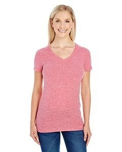 Women's Triblend Short-Sleeve V-Neck T-Shirt
