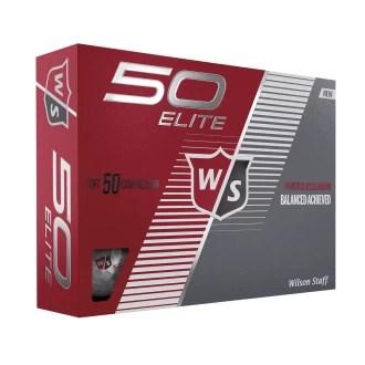 Custom Wilson 50 Elite Golf Balls