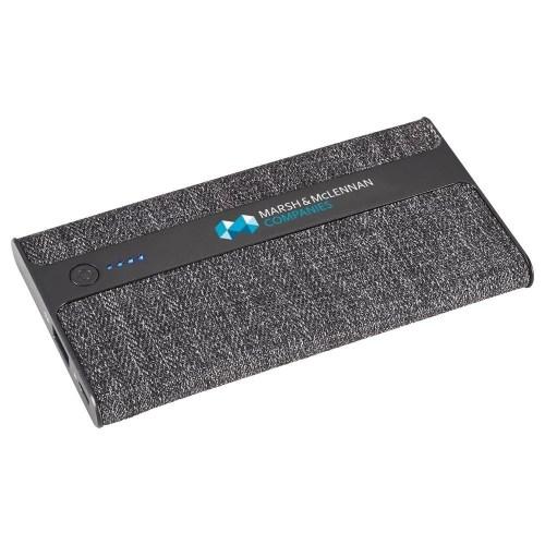 Zeal Fabric Custom Power Bank - 4000 mAh