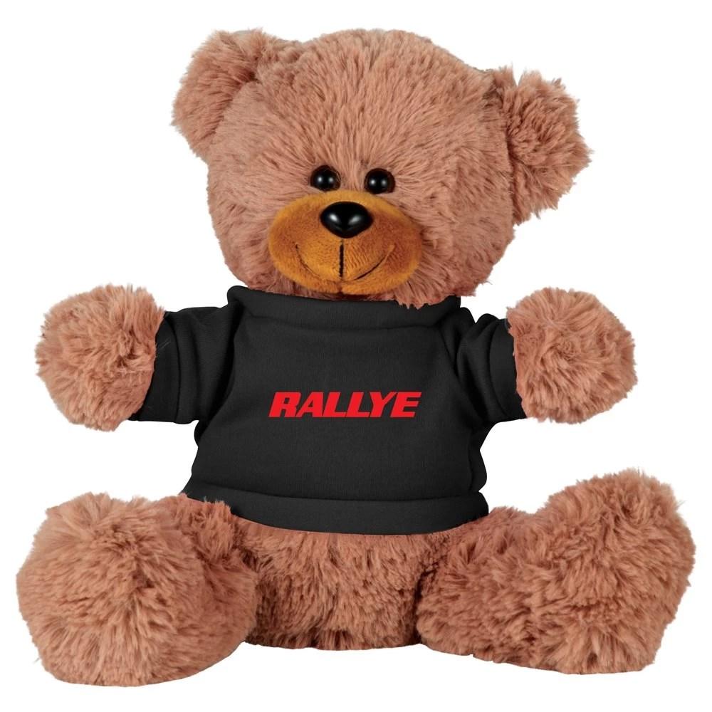 Sitting Plush Bear with Shirt