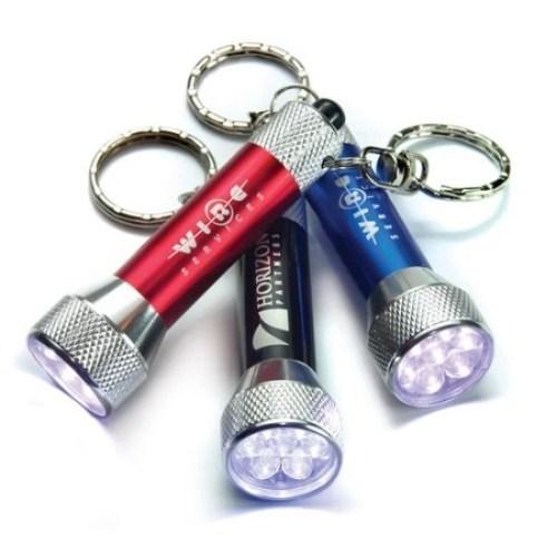 Promotional LED Flashlight Keychain