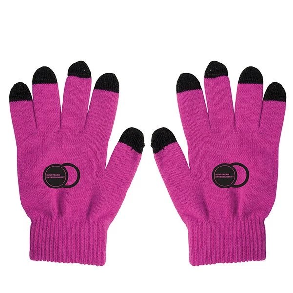 Touch Screen Gloves Two-Toned