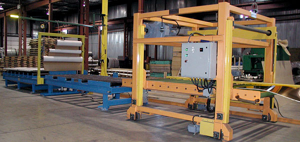 """Bundle Splitter Systems 60"""" or 72"""" wide with outbound conveyors and paper pass through"""