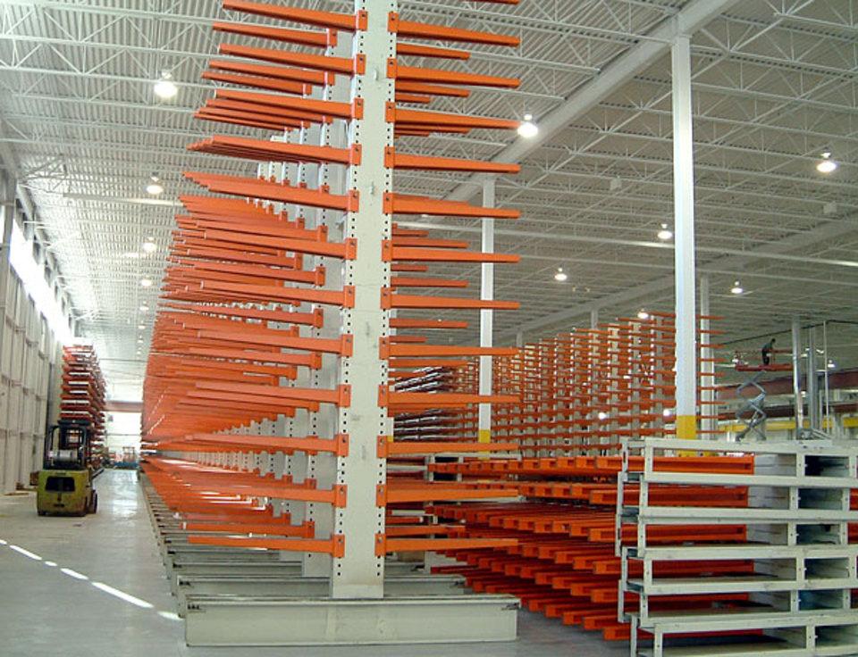 Heavy Duty Racking Systems Cantilever Racks For Bar