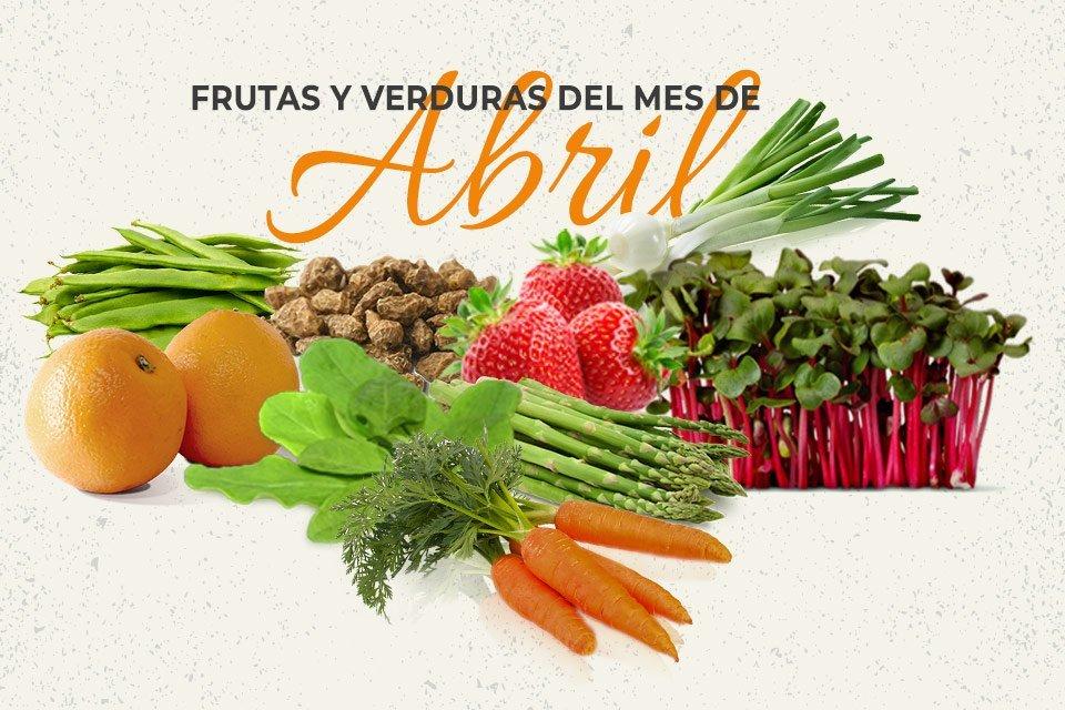 Frutas y Verduras de Abril