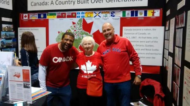 Greg, Shirley and Gary