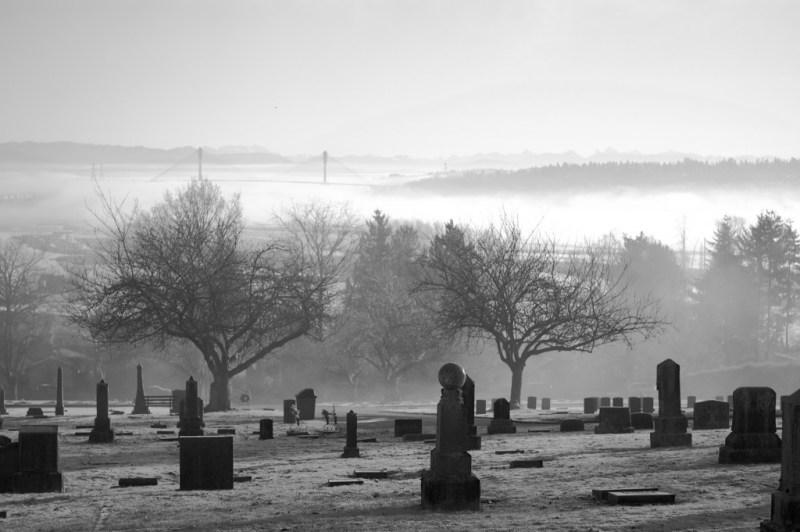 Fraser Cemetery in New Westminster