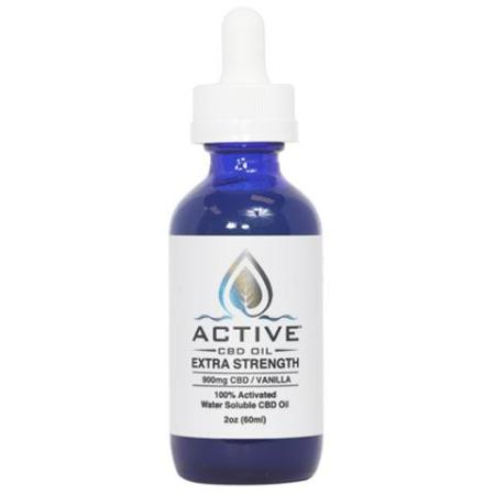 CBD water soluble vanilla flavor 900 mg