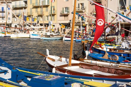 """Boats signed in for """"les Voiles Latines"""" which took place from 21 to 26 May."""