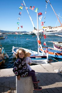 """The daughter of one of the participants of """"les Voiles Latines"""""""