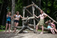 Intrepid Tarzan Swing partakers