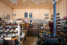 Inside Mason & Daly General Store.