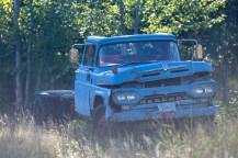 Beat-up truck