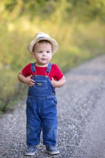 I'm just a farm boy from a cool family...