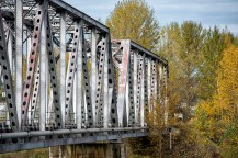 Last bridge over the Quesnel