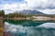 Yellowhead Lake: Approaching Jasper