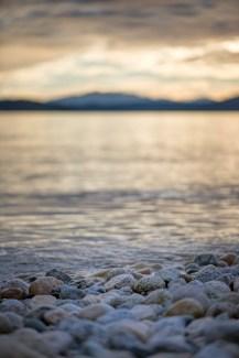 Sunset rocks